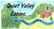 quiet-valley-cabins-logo